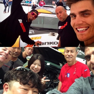 A couple of @scion selfies with the and family! Tag yours with #ScionSelfie!