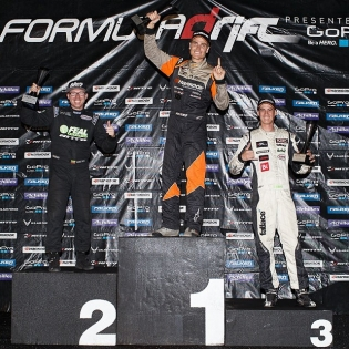 Formula Drift Texas 2014 Results - 1. @fredricaasbo - 2. @odidrift - 3. @forrestwang808 - Photo by @larry_chen_foto