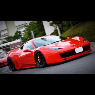 LB★WORKS 458 RED @forgiato @forgiato