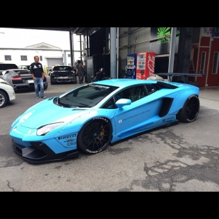 LB★WORKS AVENTADOR FINISH!︎ FIRST CAR ︎︎DEBUT!︎︎ 2014 SEMA SHOW︎︎ FORGIATO BOOTH︎︎︎ @forgiato