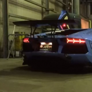 LB★WORKS AVENTADOR FIRE SHOW @forgiato