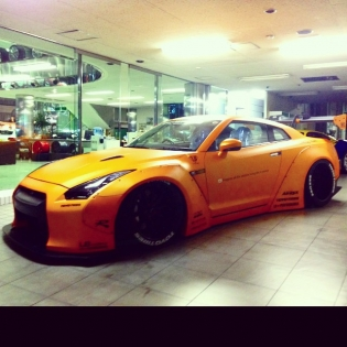 LB★WORKS R35 new color is mad orange!! @forgiato