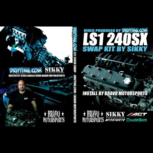 LS1 240SX Swap DVD