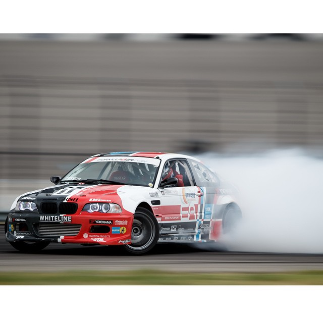 M3 @michaelessa @yokohamatire @bmw | Photo by @larry_chen_foto | #formulad #formuladrift #bmw