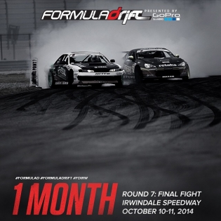 Only 1 month left until Round 7: Final Fight at Irwindale Speedway! Get your tickets at www.formulad.com before they sell out! |