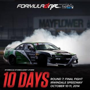 10 More days till Round 7 - Irwindale Speedway! |