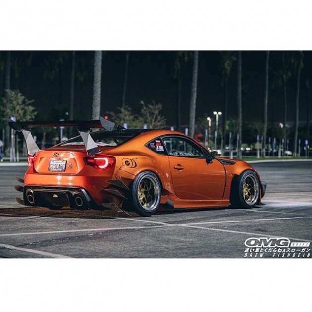 @staycrushing FRS at Formula Drift - Photo by @omgdrift
