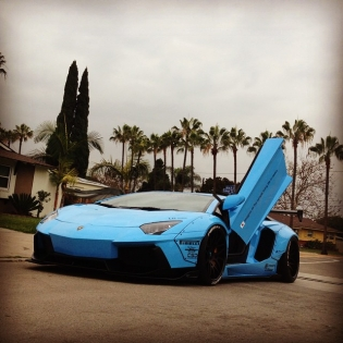 LB★Works Aventador. Finally we can bring this car to SEMA!! Forgiato booth! @forgiato hunters