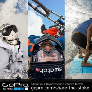 Share your favorites for a chance to win GoPro Gear and more! Visit gopro.com/share-the-stoke | @gopro