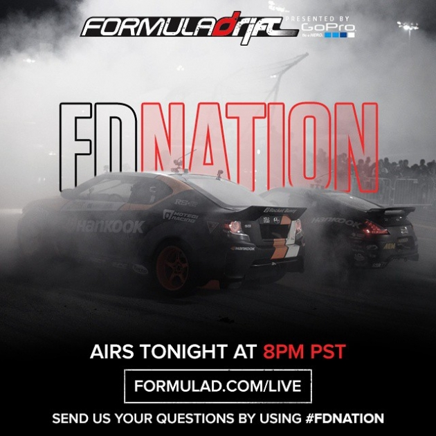 Special edition of FD Nation with Chris Forsberg and Fredric Aasbo is live tonight at 8pm PST