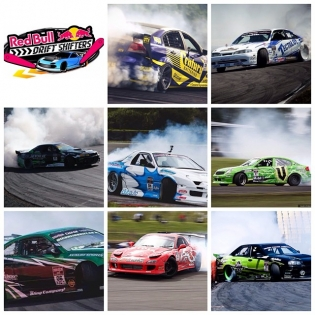 I'm so proud to have the strongest line up of New Zealand's best drift talent for @redbull 2014. These guys all kick ass and I guarantee they are going to make it tough for the 7 pro international drivers to step onto that podium.