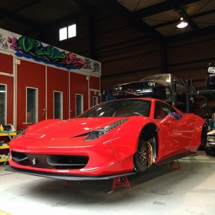 LB★WORKS 458 Japan custom now @forgiato
