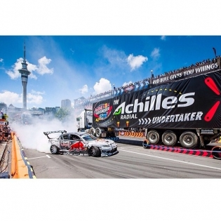 @redbull 2012 With less than 2weeks until 2014 Sat 6th Dec Quay St Auckland City. Remember this is a FREE event so don't miss the opportunity to see the worlds best drift racers attack the insane new course and try claim the 2014 title!!!