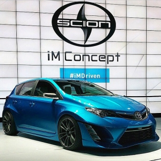 The cat's out of the bag: The brand new @scion #iMconcept! Thoughts? (via @beyondmg)