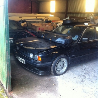 Your next to be pulled out of hibernation baby I promise!:) I love e34's and this is one of the ultimate. Alpina b10 3.5 goodness