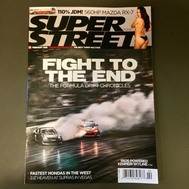 """""""Fight to the end"""" The Formula DRIFT chronicles by @superstreet available on newsstands now! 