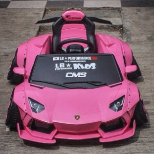 LB★KIDS CAR AVENTADOR @forgiato #