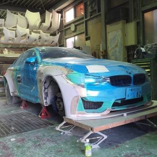 LB★WORKS BMW M4 m4 @forgiato