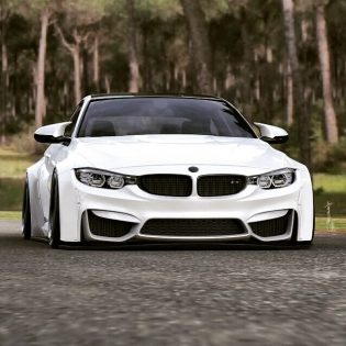LB★WORKS BMW M4 new Design @forgiato hunters m4