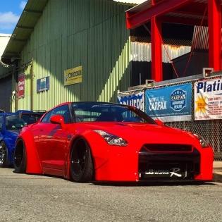 LB★WORKS GTR R35 IN HAWAII @forgiato