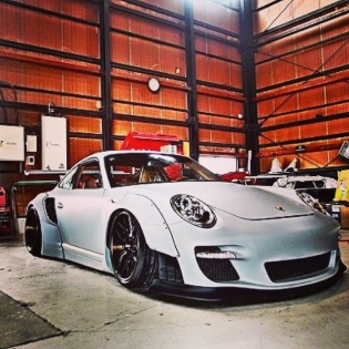 LB★WORKS PORSHE 997 TURBO KATO JAPAN CUSTOM