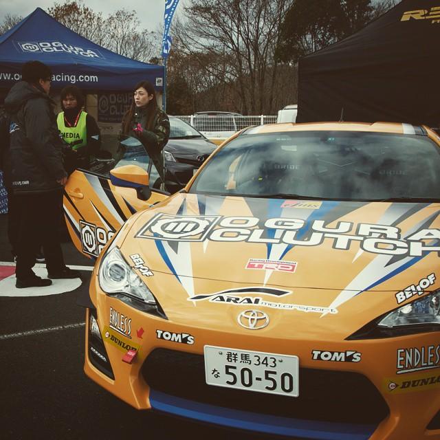 OGURA CLUTCH #motorgames #motorsports #oguraclutch #formulad #okayama #toyota86 #manufacturer #car