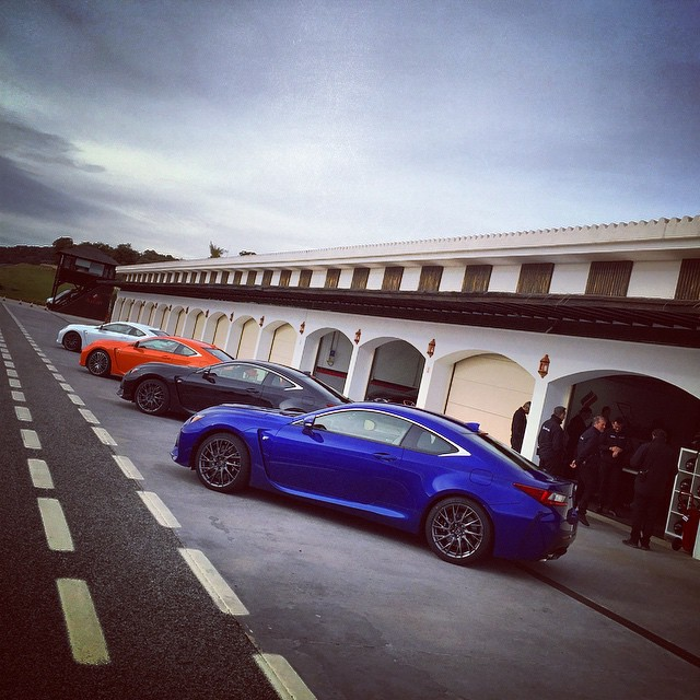 So which color would you choose? #Lexus #RCF