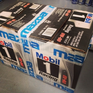 Getting rather excited as the last package is off to @p.p.r.e for project #RADBUL. Only the best lubricant is used for maximum performance and reliability in all my engines and drivetrains. We are so close to bringing you the next clip of this bull unleashing on the dyno!