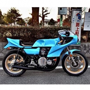 KAWASAKI Z1 KATO BIKE JAPAN @forgiato #