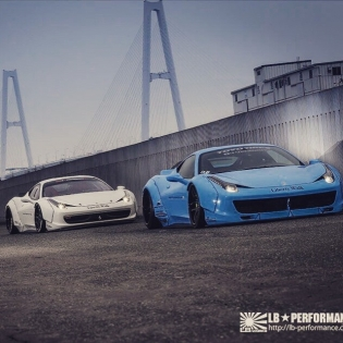 LB★WORKS FERARRI 458 2CAR http://libertywalk.co.jp @forgiato #