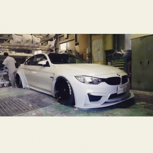LB★WORKS NEW BMW M4 http://libertywalk.co.jp @forgiato #