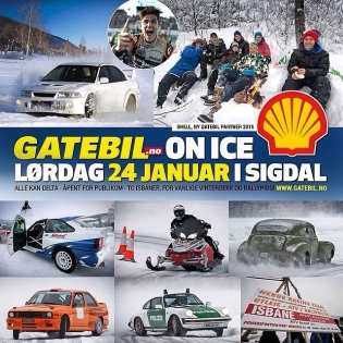 See you at this Saturday? @racetune is coming with us this year and I can't wait to be a part of this awesome winter tradition. Sees i Sigdal! :) @gatebil_official