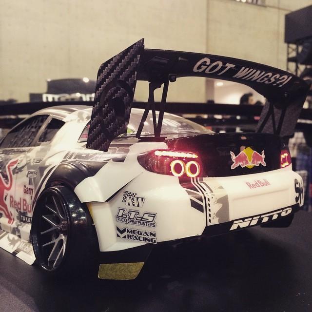 Yoshimi Saito also created this badass #RCdrift Gen6 #BADBUL #rajikon #nihonstyle #TokyoAutoSalon