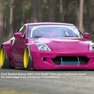 First Rocket Bunny 350Z USA Build? Post your Predictions here!! Kit and Image from @trakyoto