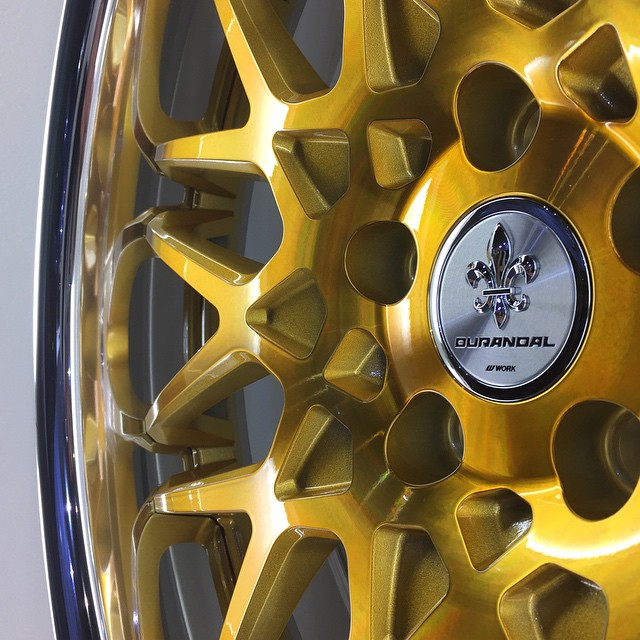 New Imperial Gold finish (here on Durandal DD10.5). You guys like it? #artofwheel