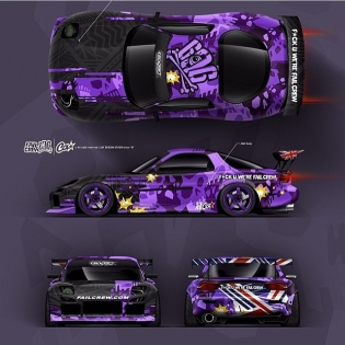 @FAILCREW RX7 - New Livery by @ciay