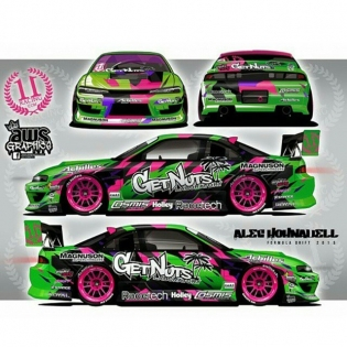 Alec @alechohnadell from Team @getnutslab / Livery by @aws_graphics