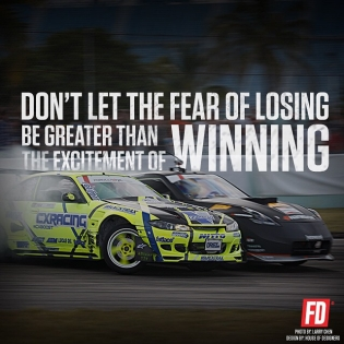 Don't let the fear of losing be greater than the excitement of winning @mattfield777 @chrisforsberg64 |