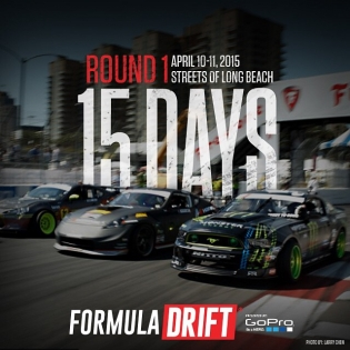 Formula Drift Round 1 is only 15 days away! Make sure to get your tickets for the first round of the season!