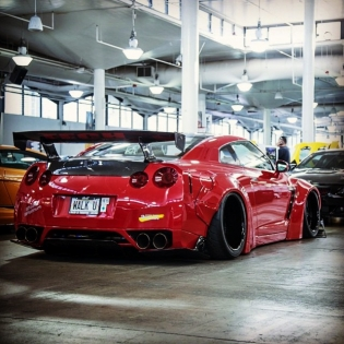 LB★WORKS GTR R35 HAWAII http://www.libertywalk-usa.com