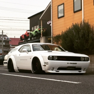 LB★WORKS challenger japan custom http://www.libertywalk-usa.com @forgiato