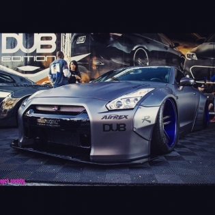 LB Works GTR CANADA(Owner is JJ) in SEMA 2014 http://www.libertywalk-usa.com @forgiato