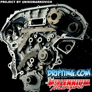 Post your 350Z Engine Rebuild Questions Here . Engine Machining and Assembly by @millennium_motorsports / Project by @nikomarkovich / Filming by @driftingcom