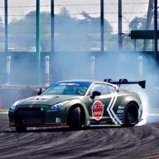 FORMULA D JAPAN LB GTR is drifting! We'll do our best! @forgiato graffiti d