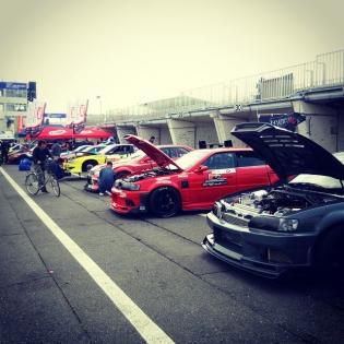 FORMULA DRIFT JAPAN Rd.1 Tsukuba Circuit.