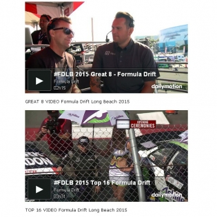 HOURS OF VIDEOS - Formula Drift Long Beach 2015 - Watch on DRIFTING.COM - FINAL 4 - 1 Hour 35 Minutes, GREAT 8 - 2 Hours 15 Minutes, TOP 16 - 3 Hours 31 Minutes, Qualifying Session 1 - 2 Hours 30 Minutes, Qualifying Session 2 - 1 Hour 9 Minutes,
