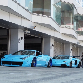 LB★WORKS 458️LB★WORKS AVENTADOR JAPAN KATO CUSTOM @forgiato