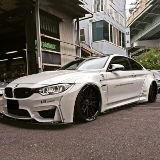 LB★WORKS M4 was completed!! http://www.libertywalk-usa.com