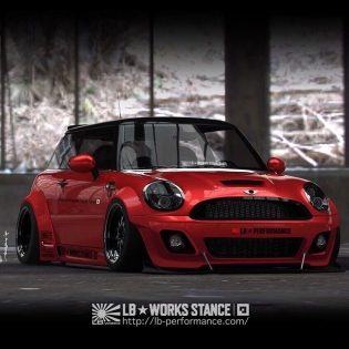 LB★WORKS MINI STANCE COOMING SOON @forgiato