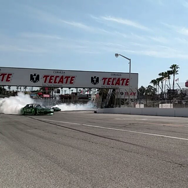 Last day of the #grandprix. We got to Street drift the S14 on the whole course! @amdrift captured a rad video of Forrest smoking the track out. #getnuts #getnutslab #forrestwang #amdrift @davidkarey @alechohnadell